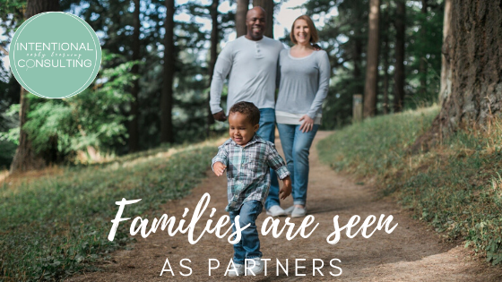 Families are partners