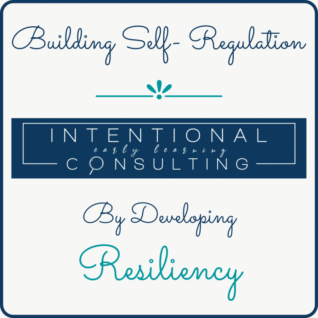 building self regulation and resiliency