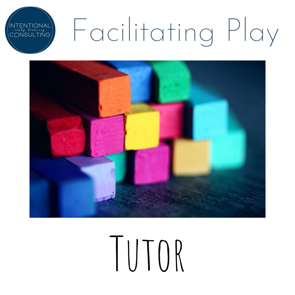 facilitating play